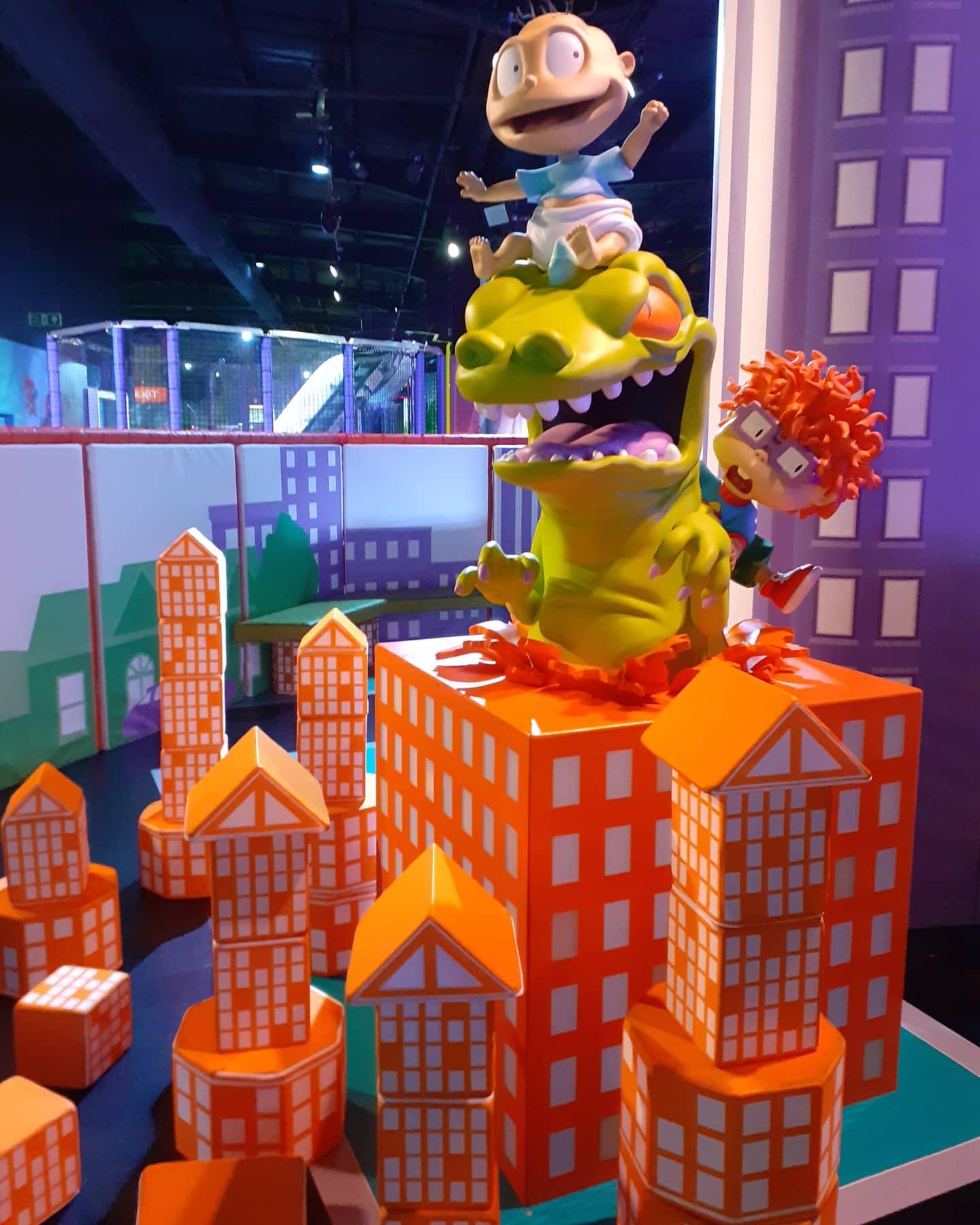 Nickelodeon Adventure Lakeside Saturn Rock Creative
